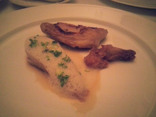 Confit of Loire Poussin with Truffle 02