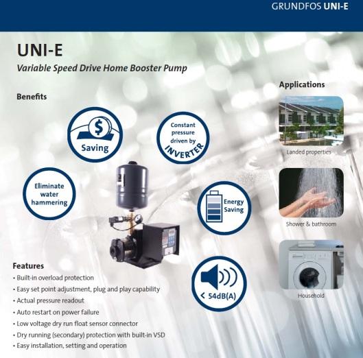 Grundfos Uni-E Pump