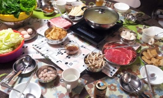 2014 CNY eve dinner