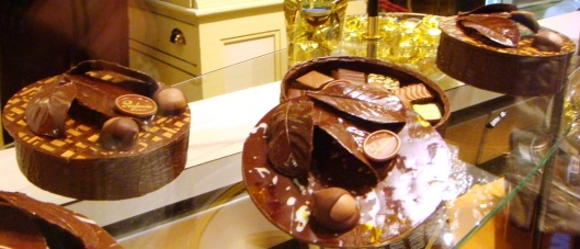 Chocolat Box with Chocolate inside
