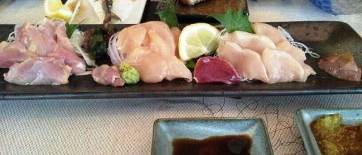 Jidori Chicken Sashimi
