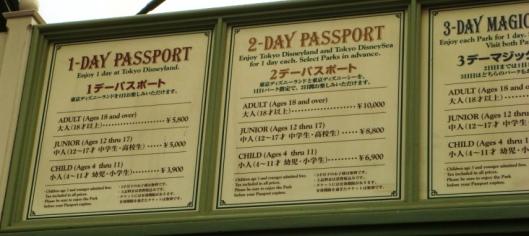 Disneyland Ticket price